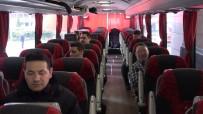 BİLET SATIŞI - Otobüslerde Alınan Korona Virüs Tedbirlerinden Yolcu Ve Firmalar Memnun