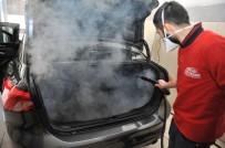 EMNIYET KEMERI - Otomobillere Buharlı Korona Önlemi