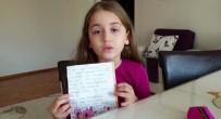 BARIŞ AYDIN - (Özel) Miniklerden Bakan Koca Ve Sağlık Çalışanlarına Teşekkür Mektubu