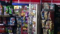 OLAY YERİ İNCELEME - (Özel) Silahlı Gaspçı Market Sahibine Doğum Gününde Kabusu Yaşattı