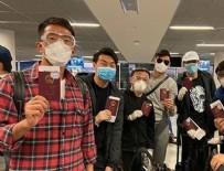 FUTBOL TAKIMI - Wuhan takımı İstanbul'da mola vermiş