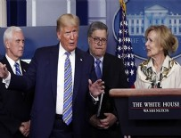 TUVALET KAĞIDI - Trump'tan endişelendiren koronavirüs açıklaması