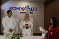 KONYAALTI BELEDİYESİ - Ukraynalı Gelin Ve Türk Damada 'Korona' Paketi