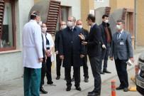 EVLİYA ÇELEBİ - Vali Toraman, Evliya Çelebi Eğitim Ve Araştırma Hastanesi'nde