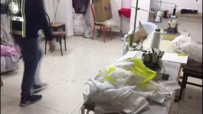 Başkentte 'Kaçak Maske' Üretimi Yapan İş Yeri Mühürlendi