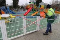 HASAN AKGÜN - Büyükçekmece'de Çocuk Park Ve Oyun Alanları Kullanıma Kapatıldı