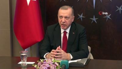Cumhurbaşkanı Erdoğan, Koronavirüs Bilim Kurulu Toplantısı'na Katıldı