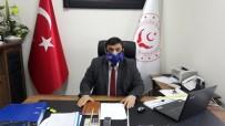 KALP HASTASI - Daire Müdürü, Virüse Karşı Oksijen Maskesi İle Görevi Başında