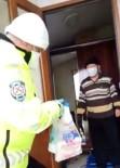 GÜNDOĞDU - Evden Çıkamayan Kıbrıs Gazisinin Market Alışverişini Polis Yaptı