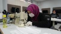 BULDUK - İzmit'te Sağlık Çalışanları İçin Bone Ve Önlük Üretimi De Başladı