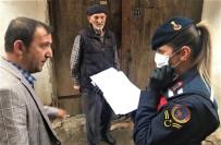 MUSTAFA YıLMAZ - Jandarma 65 Yaş Ve Üzeri Vatandaşlar İçin Seferber