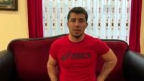 BRONZ MADALYA - Milli Güreşçiler 'Evde Kal' Çağrısı Yaptı