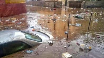 Yemen'de Sel Felaketi Açıklaması 2 Ölü