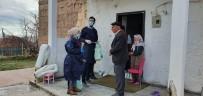 EVDE TEK BAŞINA - Ahlat'ta Yaşlı Vatandaşların Yardımına Koşuluyor