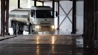 YENIKÖY - Başiskele'de Pazar Yerleri Dezenfekte Ediliyor