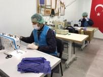 ELZEM - Denetimli Serbestlik Yükümlüleri, Sağlık Çalışanları İçin Maske Üretiyor