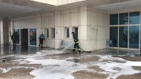 ANTİBAKTERİYEL - Erciş'te Dezenfekte Seferberliği