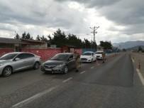 FEVZIPAŞA - İslahiye'de Jandarmadan Korona Virüs Denetimi