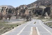 GÖREME - Kapadokya Adeta Hayalet Şehre Döndü