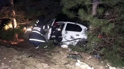 Karabük'te Otomobil Devrildi Açıklaması 1 Ölü, 3 Yaralı