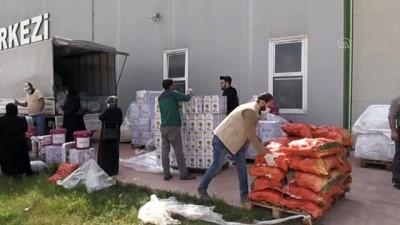 Katarlı Hayırseverlerden Kilis'teki Suriyelilere Yardım