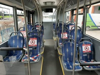 Kocaeli'deki Belediye Otobüslerinde İki Kişi Yan Yana Oturamayacak