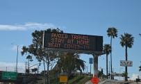 HOLLYWOOD - Los Angeles'ın Renkli Sokakları Korona Salgını Nedeniyle Issız Kaldı