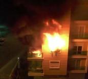 SES KAYDI - Lüks Rezidansta Yangın