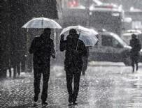 ERKEN UYARI - Meteoroloji hafta sonu için uyardı!