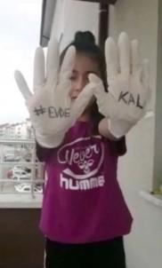 Öğrencilerden 'Evde Kal Türkiye' Çağrısı