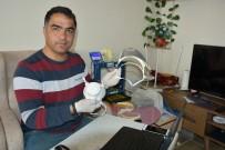 ÖĞRETMENLIK - (Özel) Sağlık Çalışanları İçin 3D Yazıcıyla Yüz Koruyucu Siper Üretti