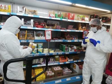 Sason'da Korona Virüs Önlemleri Kapsamında Hijyen Denetimleri Arttırıldı