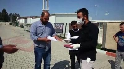 Sığınmacıların Kaldığı Geçici Barınma Merkezlerinde Kovid-19 Tedbirleri