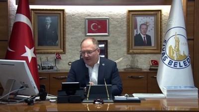 Sivas Belediye Başkanı Bilgin'den Koronavirüse Karşı 'Görüntülü Konuşma' Uygulaması
