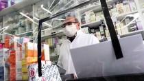 DIYALOG - Sivas'ta Eczaneden Koronavirüse Karşı Naylonlu Önlem