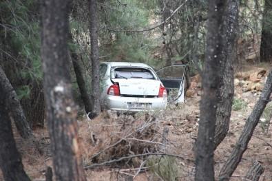 Spil Dağı'nda Otomobil Uçurumdan Uçtu Açıklaması 2 Yaralı