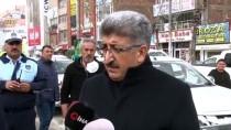 ZÜBEYDE HANıM - Van'da Cadde Ve Sokaklar 17 Araçla Dezenfekte Edildi