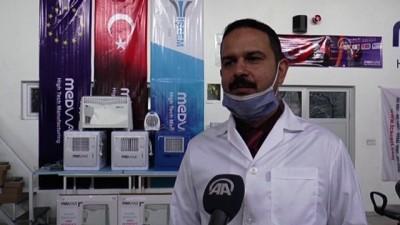 Van'da Üretilen Hava Dezenfekte Cihazına Yoğun İlgi