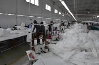 ANTİBAKTERİYEL - Amasya'da Antibakteriyel Tulum Üretiliyor