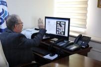 BARTIN ÜNİVERSİTESİ - Bartın Üniversitesi'ndeki Toplantılar Video Konferans Yoluyla Yapılıyor