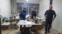 YILDIRIM BELEDİYESİ - Bursa'da Merdiven Altı Maske Üretimine Şok Baskın
