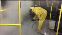DEZENFEKSİYON - Düzce'de Ulaşım Araçlarına Buharlı Dezenfektasyon