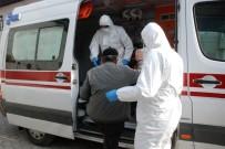 HASTANE YÖNETİMİ - Hastaneden İzinsiz Ayrılan Korona Virüsü Şüphelisi Evinden Alınıp Hastaneye Getirildi