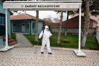 DEZENFEKSİYON - İnönü'de Dezenfekte Çalışmaları Aralıksız Devam Ediyor