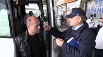 OTOBÜS TERMİNALİ - Kırklareli'de Otobüslerle Kente Gelen Yolcuların Ateşi Ölçülüyor