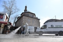 OSMANGAZI BELEDIYESI - Osmangazi'de Dezenfeksiyon Seferberliği