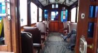 TAKSIM MEYDANı - (Özel) Nostaljik Tramvay Boş Kaldı