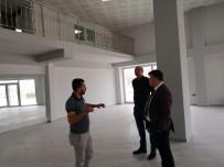DIYALOG - Spor İl Müdürü Fillikçioğlu, ADÜ Park Genç Ofis'te İncelemelerde Bulundu