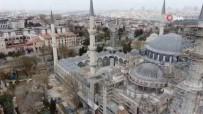 SULTANAHMET CAMII - Sultanahmet Camii'ndeki Sakinlik Havadan Görüntülendi