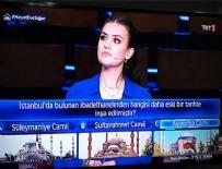 SULTANAHMET CAMII - TRT'deki 3'te 3 Tarih programında bomba Ayasofya ayrıntısı